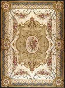 Persian hand tufted carpet