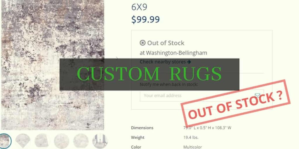 custom design rugs
