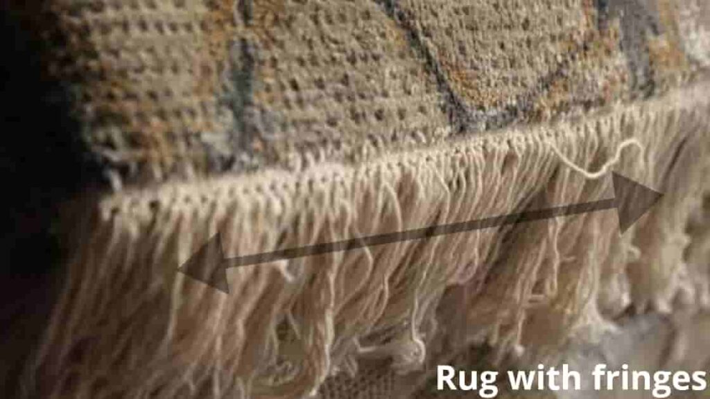 rug with fringes