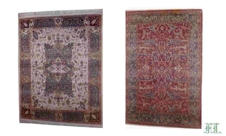 hand knotted vegetable dyed rugs