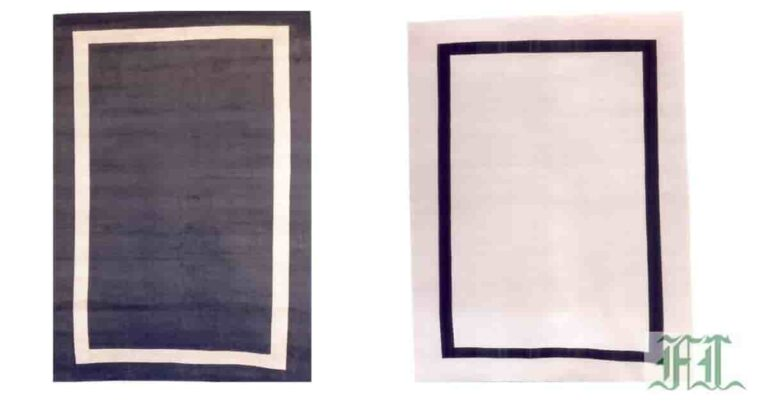 hand tufted modern rugs in Indian wool
