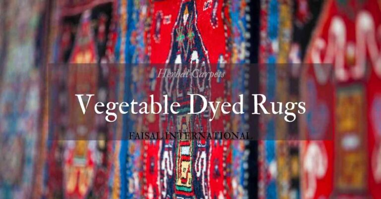 vegetable dyed rugs