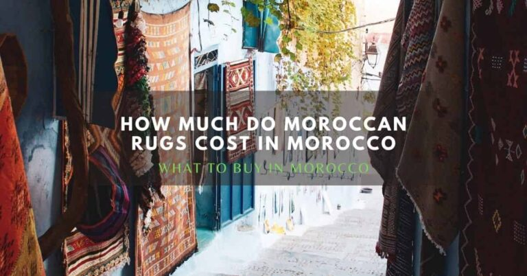 how much do moroccan rugs cost in morocco