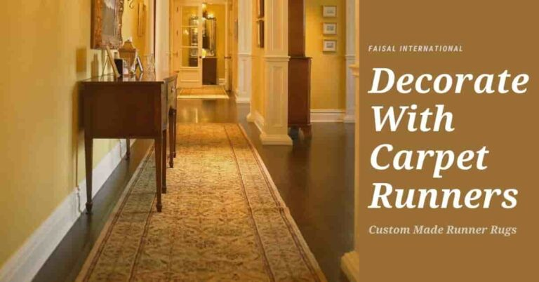 how to decorate with carpet runners