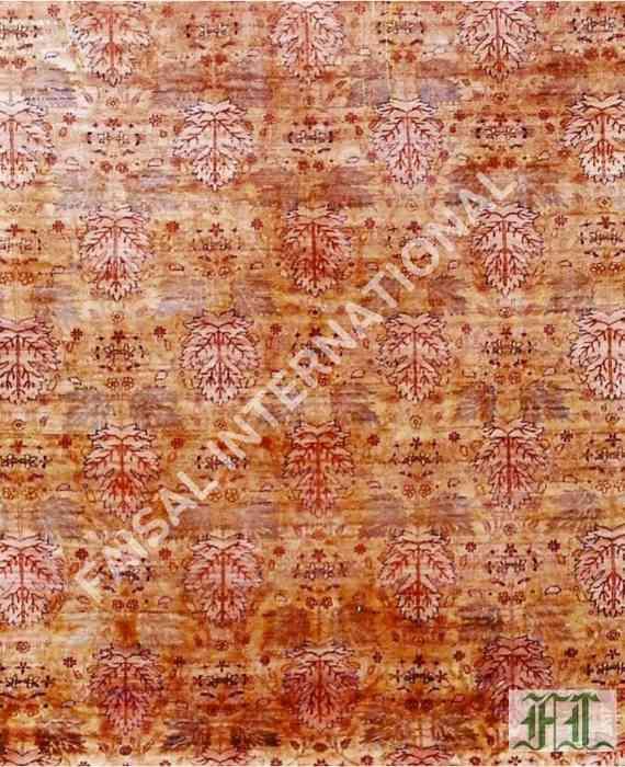borderless tea washed rug faisal international