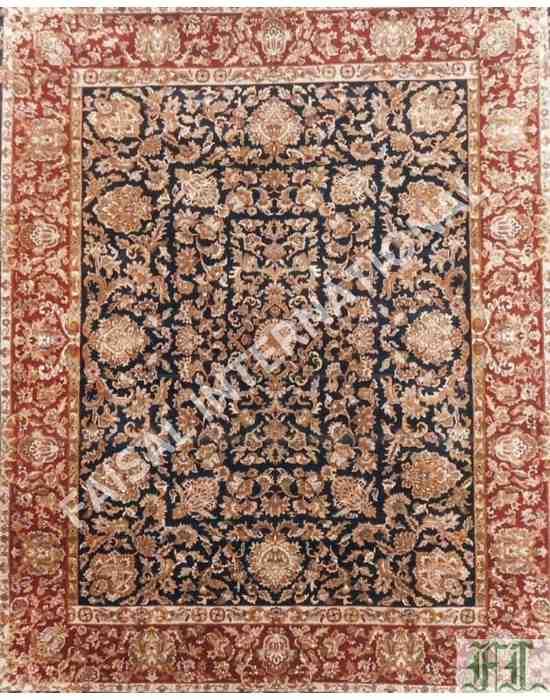 luster wash rug