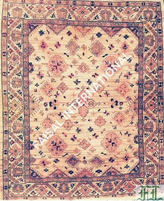 tea washed oriental rug faisa