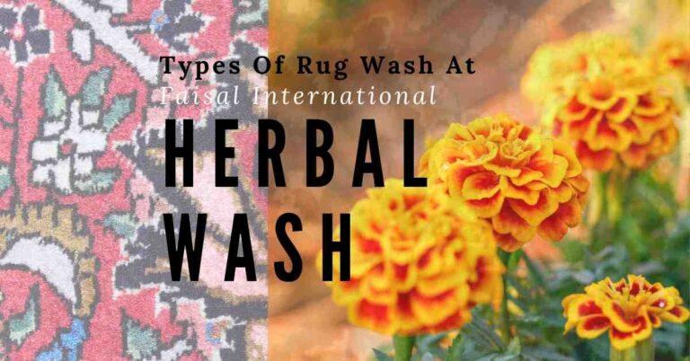 types of rug wash faisal international