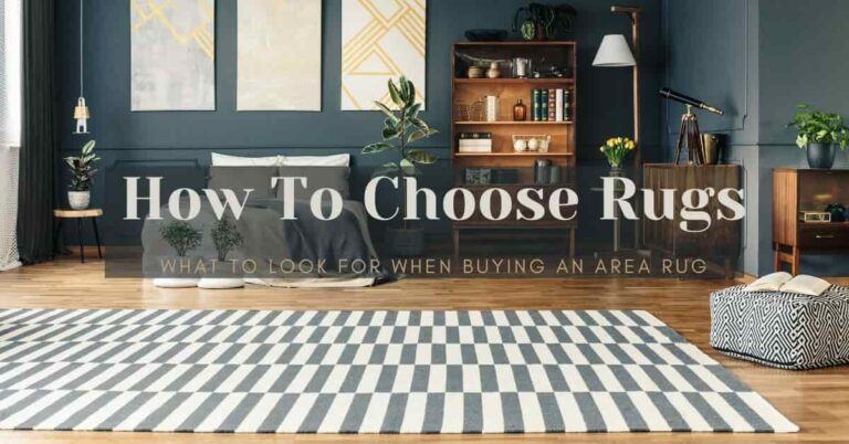 what to look for when buying an area rug