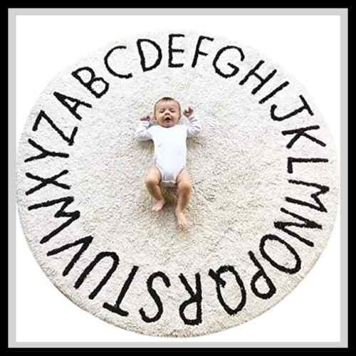 ABC Baby Rug For Nursery