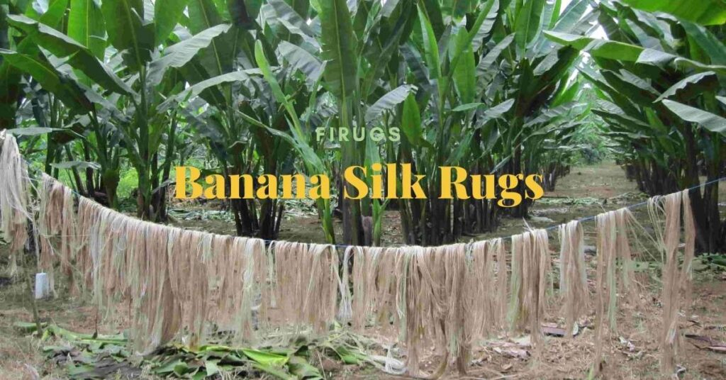 what is banana silk rug