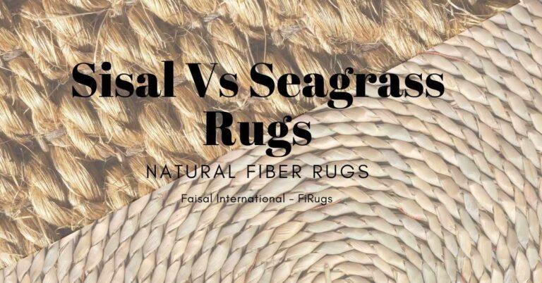 Sisal Vs Seagrass Rug