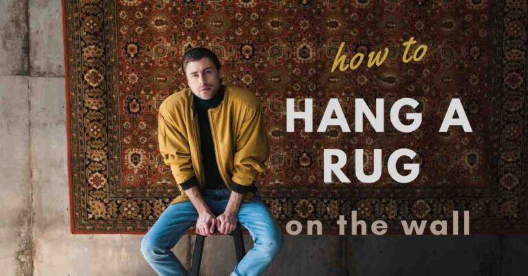 How To Hang A Rug On The Wall