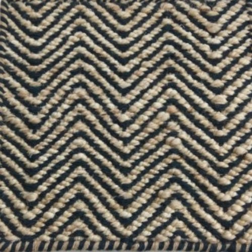 wool and hemp flat-weave rug